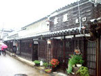 町並保存区の「床屋」