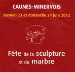 Caunes-Minervois 2012  Carton d'invitation