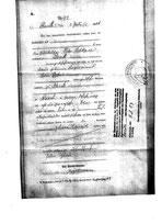 Geburtsurkunde Johann Heinrich Schkade geboren am 28.Juni 1876
