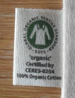 GOTS zertifizierter Zuziehbeutel, aus 100% Baumwolle