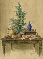 Weihnachten in Rom 1908