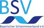 Logo und Link: Bayerischer Schwimmverband BSV