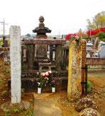 E.岡上景能公 墓所
