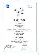GE Security - BMA Grundschulung