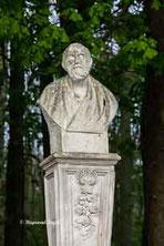 schloss nordkirchen wandelgang ostseite skulptur