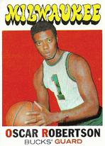 OSCAR ROBERTSON / Topps 1972 - No. 1