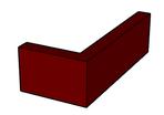 Brick Slip Corner Pistol