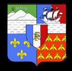 blason de la Réunion 974