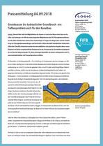RSS Flüssigboden; 04.09.2018 Grundwasser bis hydraulischer Grundbruch - einTiefbauproblem auch für den Kanalbau