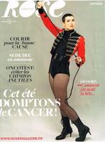 LMC FRANCE ROSE MAGAZINE LECEMIE MYELOIDE CHRONIQUE  PR FX MAHON DR AUDE CHARBONNIER IPC CANCER SANG ITK ESPOIR