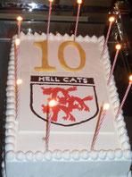 10周年記念ケーキ?