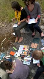 noémie creation balade dessinées dessin peinture art cours ateliers bordeaux Darwin éco-quartier