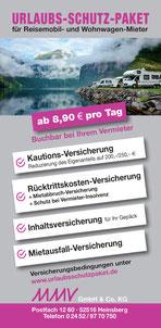 Flyer Reiseschutz