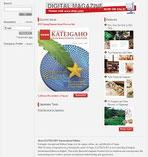 Screenshot der Kateigaho Webseite