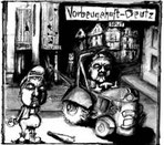 Vorbeugehaft/Deutz - Split