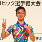 シニア男子シングル3位の斉藤