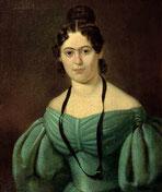 Jenny von Westfalen als junge Frau (um 1835). Quelle: Wikipedia (gemeinfrei)