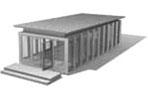 Zweithaus Wohnstudio Größenbeispiel 3