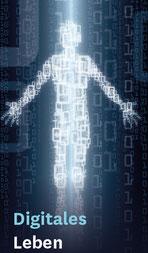Mensch digital dargestellt