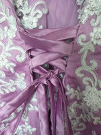 fantasy wedding purple