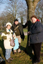 Teilnehmer der Botanik AG, Foto: Erika Heckmann