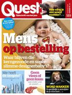 Titelpagina van Quest 11/2019 met het artikel over slaperig autorijden