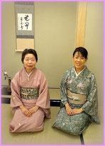 いつも穏やかでおやさしい岩室宗允先生(左)