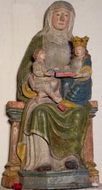 Statue de la Sainte Filiation (Chapelle de Kermouster - Plougasnou)