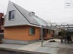 施工例、エクステリア、外構、コンクリート平板、シンプル