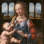 《カーネーションを持つ聖母》