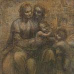 《聖アンナと聖母子と幼児聖ヨハネ》