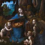 《岩窟の聖母》ロンドン版