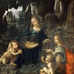 《岩窟の聖母》ルーブル版