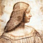 《イザベラ・デステの肖像》