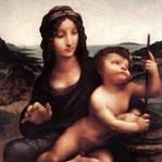 《糸車の聖母(バクルーの聖母)》