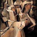 マルセル・デュシャン「処女から花嫁への移行」