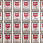 アンディ・ウォーホル「キャンベルのスープ缶」