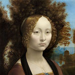 《ジネーヴラ・デ・ベンチの肖像》