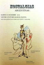 Nostalgias Argentinas avec Nathalie Milon