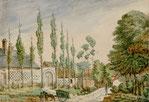 Faubourg de Thuison. Maison de M. Macqueron.  Dépendance de l'ancien couvent des chartreux. 1856