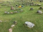 Lindholm Höje, das mit 682 Einzelgräbern größte Wikinger-Gräberfeld Europas...