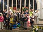 Vorstellung der Erstkommunionkinder in Herz-Jeus 14.10.2017