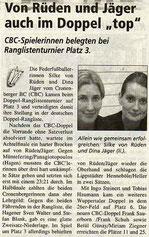 Cronenberger Woche Bericht vom 02.07.2004