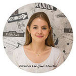 Diane репетитор носитель французского языка. Москва. Elision Lingua Studio. Курсы французского языка для детей с носителем.