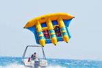 新体験!空飛ぶバナナボート