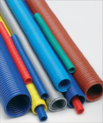 kompaut, spiral hose in polyamide and polyurethane