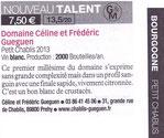 nouveau talent du guide rouge revue des vins de france