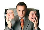 Körpersprache für erfolgreiche Vorstellungsgespräche, Mimik im Vorstellungsgespräch, Gesichtsausdruck, Lächeln, Blick, Sympathie Wirkung im Vorstellungsgespräch verbessern, Körperspache