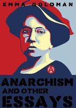 Emma Goodman. Anarchism and other essays (Book cover)