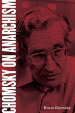 Noam Chomsky on Anarchism. Cover of book.